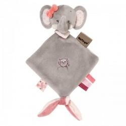 Mini doudou  Adèle l'éléphante